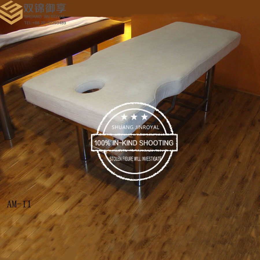 Factory Shop Superior Xipi Comfortable Recliner High Quality Electroplating Horse Physical Therapy Massage Bed(AM-11)(China (Mainland))