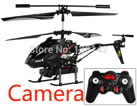 WLtoys S977 3.5CH Alloy Video Shooting RC Helicopter with camera With original box free shipping