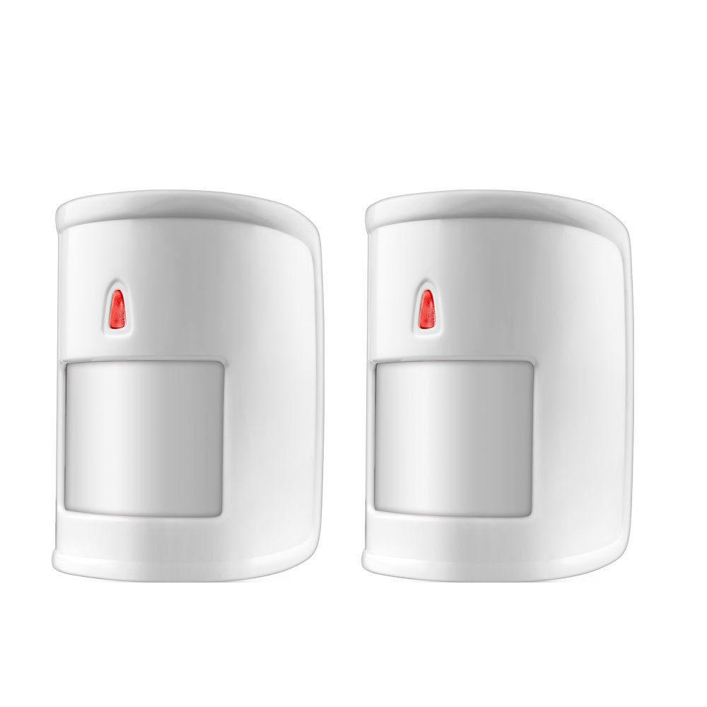 2pcs/lot Wireless Pet-Immune Motion PIR Sensor Detector Anti-pet PIR Movement Detector For GSM PSTN Home Security Alarm System(China (Mainland))