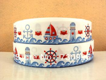 5Y6083 david ribbon 1 '' grosgrain ribbon printed ribbon free shipping