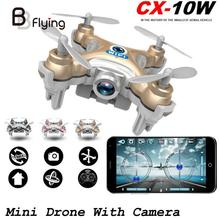2016 Mini Drone CX-101W 4CH 6Axis Gyro RC Helicopter Professional Drone Quadrocopter VS JJRC H20 Jjrc DHD D1