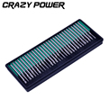 CRAZY POWER 30pcs 3mm Shank Diamond Grinding Burr Drill Grinder Bits for Dremel Rotary Tools AT2146
