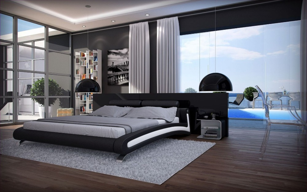 Leather Bedroom Sets VesmaEducationcom. Furniture modern style
