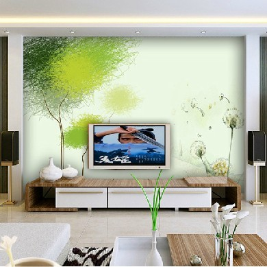 home decoration wall art Mural 3d three-dimensional wallpaper modern brief doodle sofa tv background wall painting