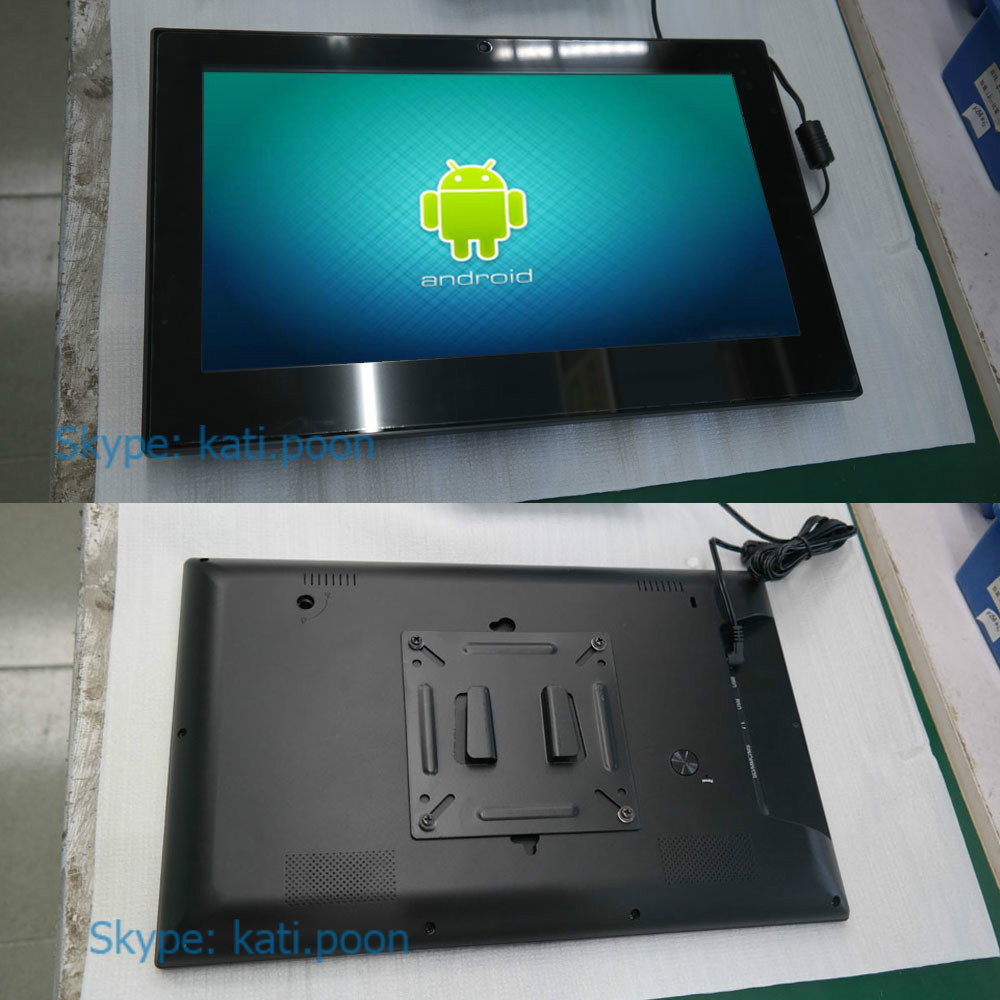 13.3'' Plastic Case Android 4.4 Smart Tablet PC, with VESA Wall Mounted Racks(China (Mainland))