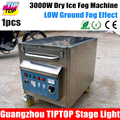 3000W Dry Ice Machine 100V 240V Stage Special Fog Machine 3000W Hand Control Two Water Heater