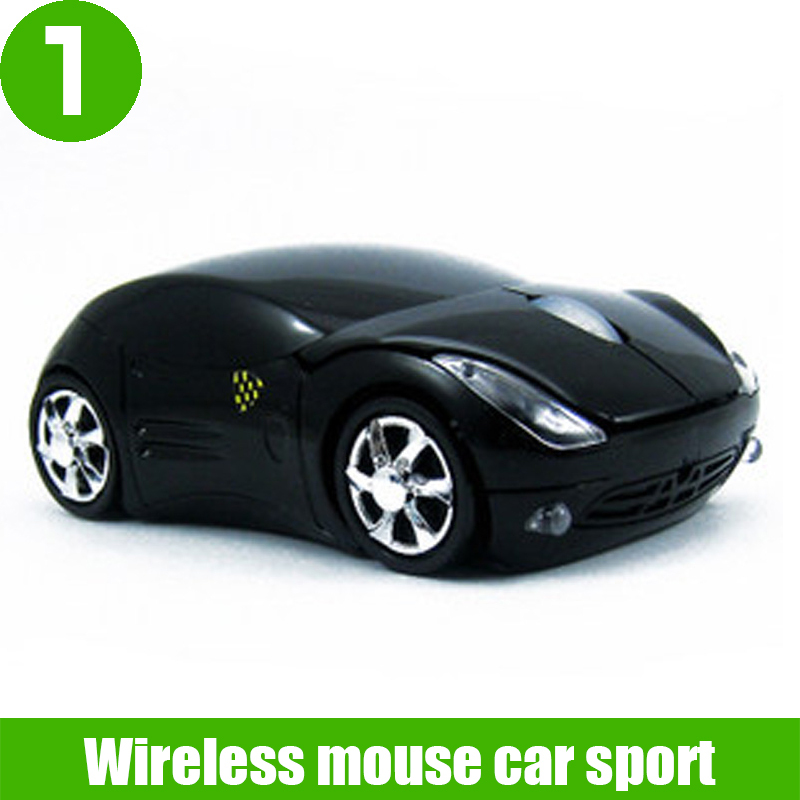 Fashion wireless mouse car sport with Quiet Touch,computer mini wireless mouse car for laptop tablet(China (Mainland))