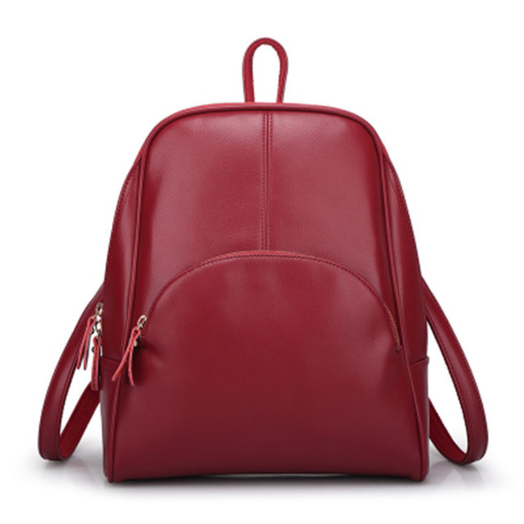 2016 New second layer genuine Leather Shoulder Bag Handbag Korean fashion leisure backpack bag wholesale female all-match<br><br>Aliexpress