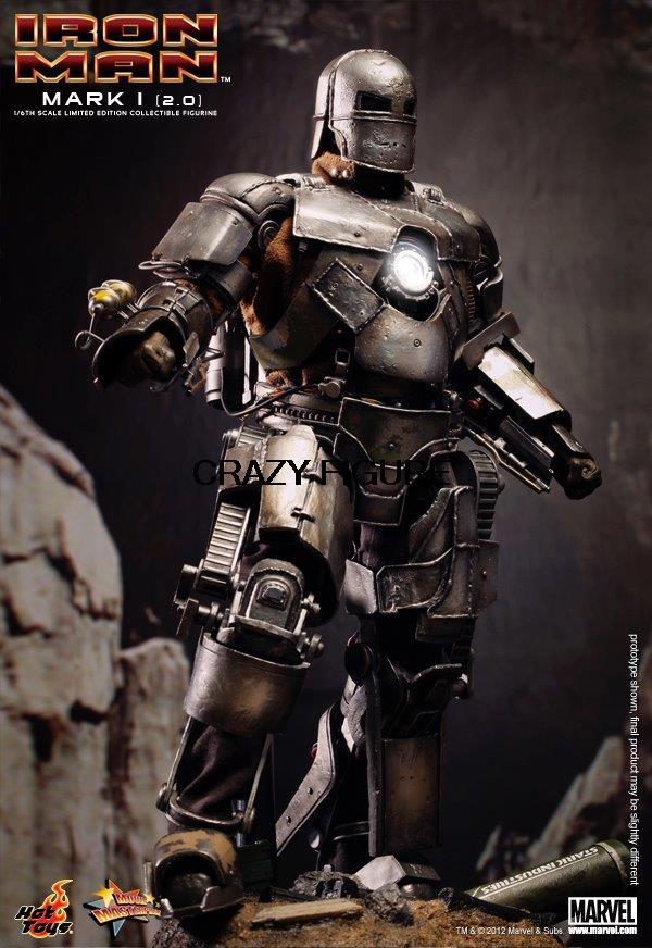 Здесь можно купить  2015 NEW # Entity Spot # HOTTOYS HT MMS168 Iron Man MK1 2.0  Игрушки и Хобби