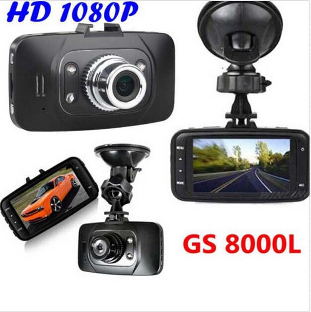 Promotion GS8000L mini camcorders car dvr s140 degrees 2.7'' sreen 500Mega pixel car camera Video Recorder Dash Cam G-sensor(China (Mainland))
