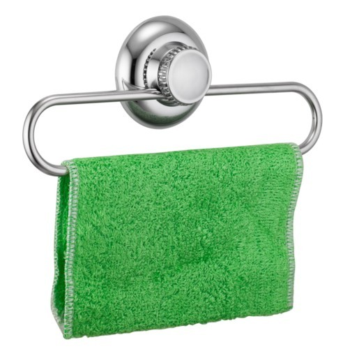 suction cup hand towel rack small towel ring tea towel