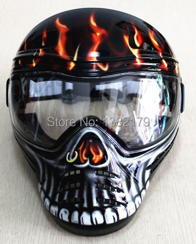 Ghost Stalker Dope Airsoft Paintball Anti-Fog double Lens Full face Mask/Goggles(China (Mainland))