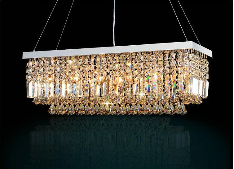 popular rectangular pendant chandelier buy cheap rectangular pendant chandelier lots from china. Black Bedroom Furniture Sets. Home Design Ideas