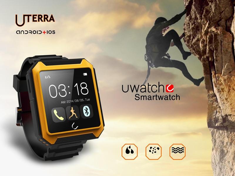 Bluetooth Smart watch Uterra Waterproof IP68 Pedometer SmartWatch Wrist Watch For iPhone Android Samsung HTC