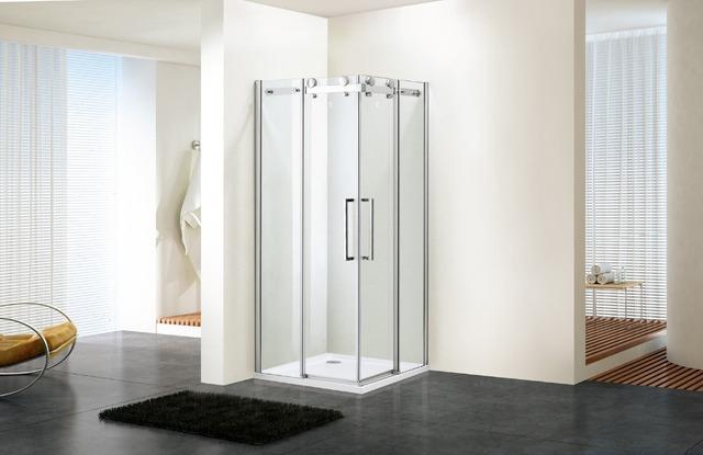 Aliexpress.com : acquista 900x900x1950mm angolo scorrevole doccia ...