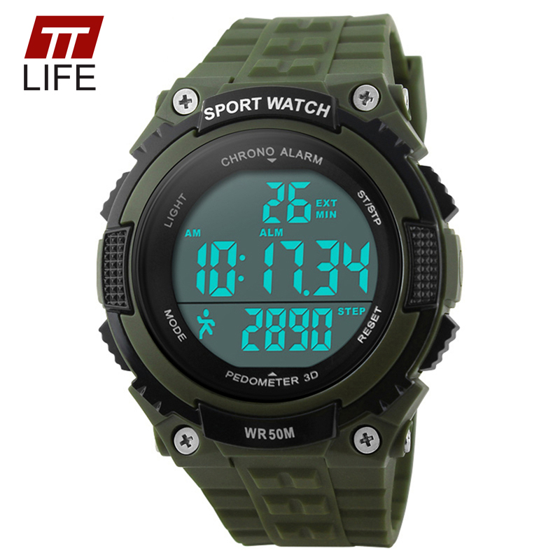 pedometer tracker sports fitness watches digit