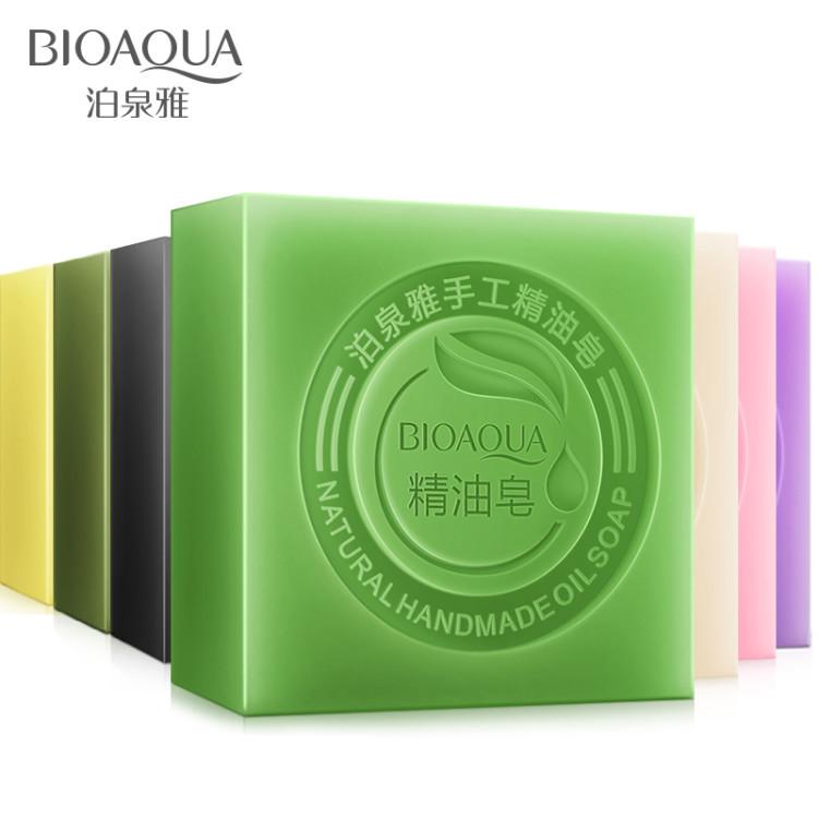 Green Tea Lavender Rose Jasmine Aloe Bamboo Charcoal Goats Milk Soap Oil Control Moisturizing Light Skin Shrink Pores(China (Mainland))