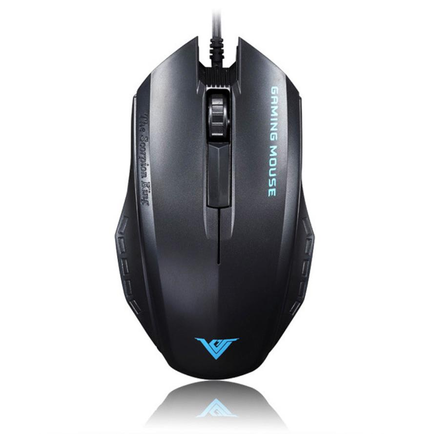 Del Gamer's Favorite Mouse 3D 1600 DPI Super Game Mouse Wired USB mouse for PC Gamer Desktop Mar04(China (Mainland))