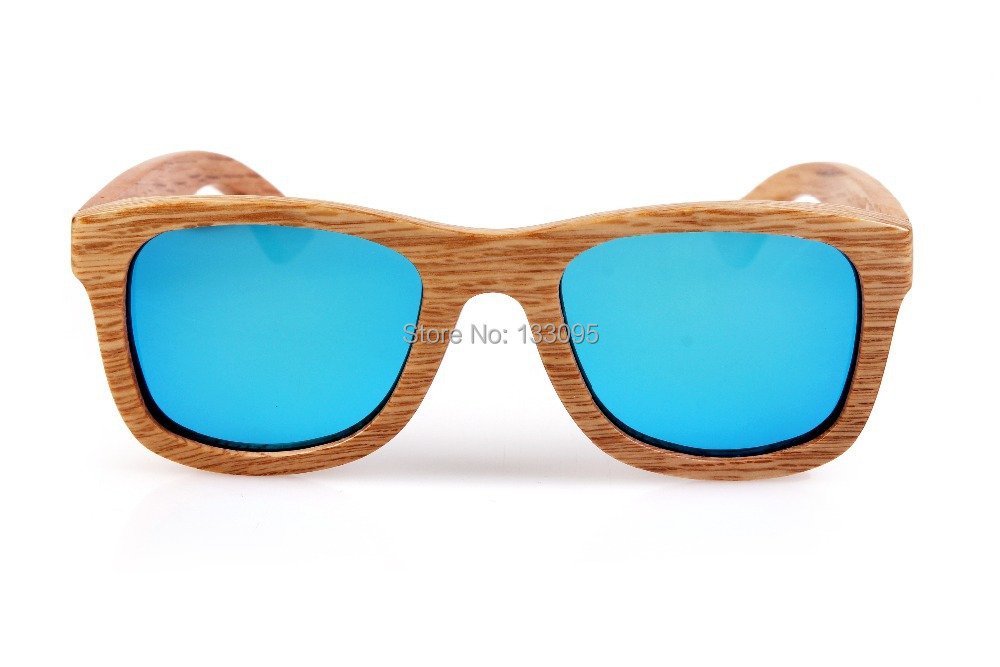 2015 Fashion Wood Sunglasses Men Women Wooden Sun Glass Bamboo Eyewear Wood Glasses