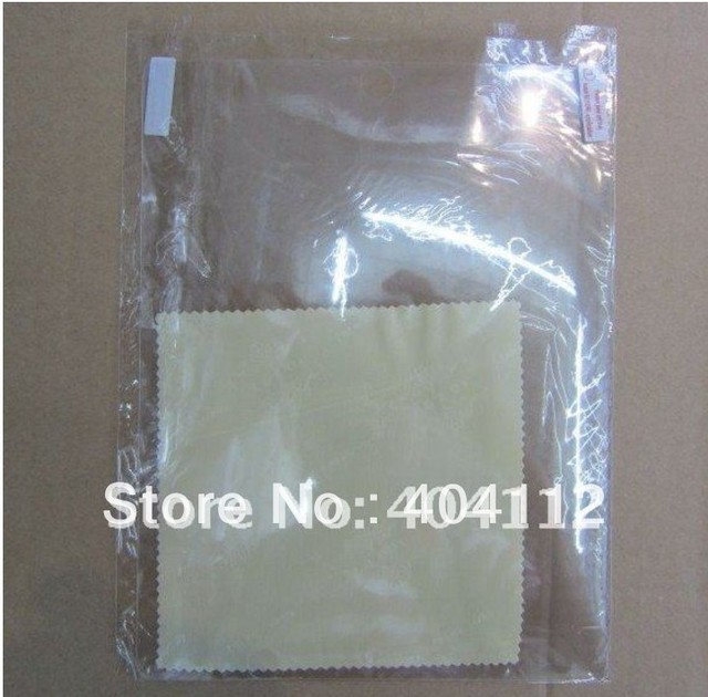 10pcs!!!For the new ipad 3 screen protector clear screen protector guard Crystal clear LCD Screen Protector for ipad3
