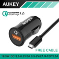Aukey Quick Charge 3 0 Mini Auto USB Car Charger QC2 0 Compatible car charger For