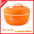 4 Color High Quality Apple Bento Lunch Box For Kids 1000ML Lunchbox Food Container Thermos For