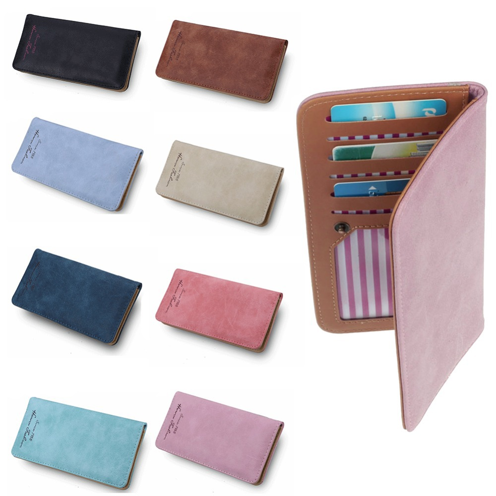 Гаджет  2015 New Retro Lady Women Purse Long Wallet Card Holder  Bags Gift Free Shipping None Камера и Сумки