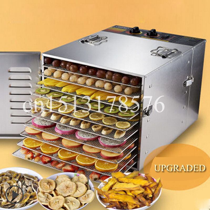 Free delivery Dried Fruit Dried Fruits And Vegetables Dehydrated Food Meat Machine Snacks Dryers(China (Mainland))