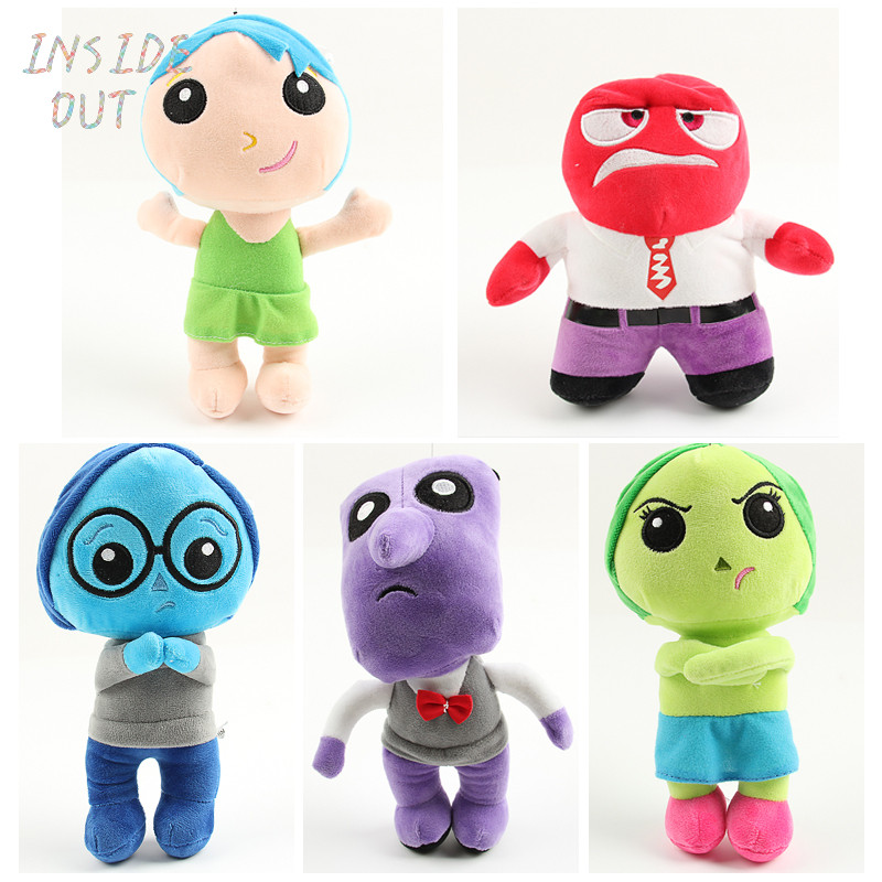Hot Sale Movie Inside Out Plush Toy Cartoon Sadness Fear Joy Disgust Anger Stuffed Doll Gifts For Kids BL1137