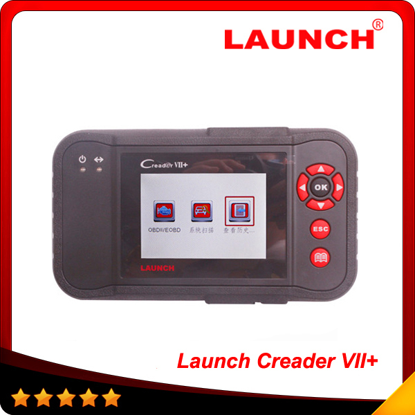 2015 [ original] Launch X431 Scanner Launch Creader Professional Creader VII+ same function with CRP123 with EasyDiag as gift(China (Mainland))