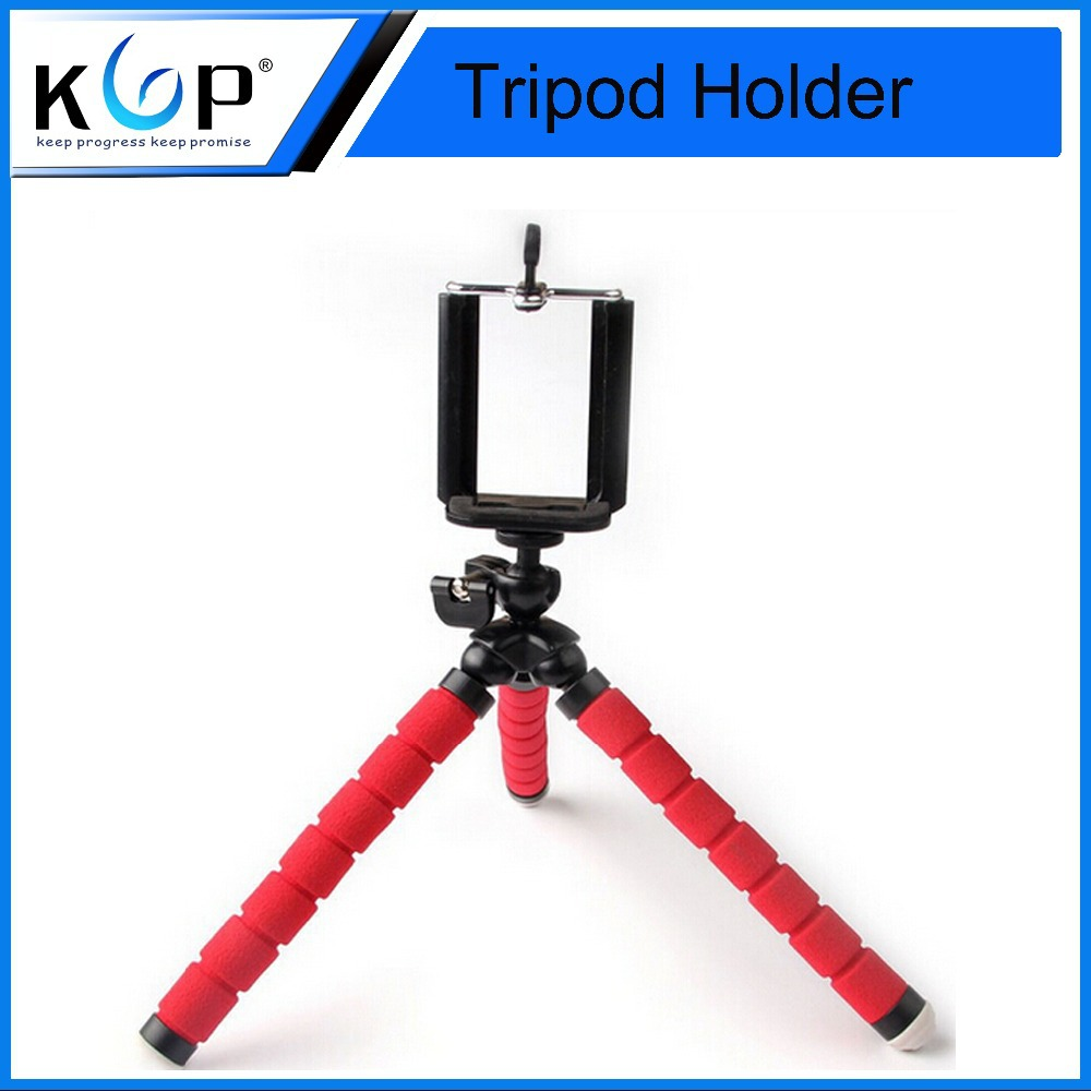 New Arrival Red Flexible Octopus Tripod Bracket Holder Tripode Stand Mount Flexible Octopus Tripod for Smartphone and Camera(China (Mainland))