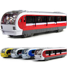 Electronic Musical And Light Metro Subway Train Pullback Model Diecast Toy Vehicle Models(China (Mainland))