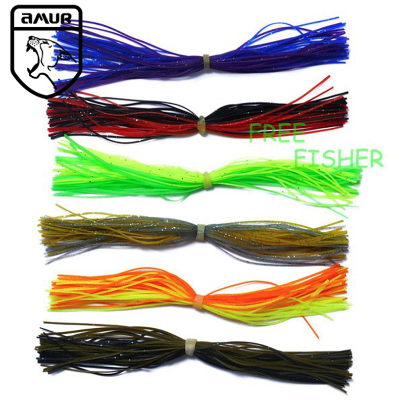 6 Spinnerbait/Jig Skirts fishing Accessory new A11<br><br>Aliexpress