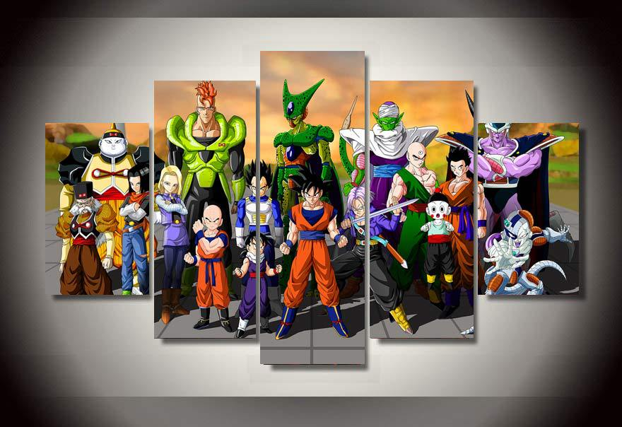 Dragon ball film promotion achetez des dragon ball film for Decoration murale dragon ball