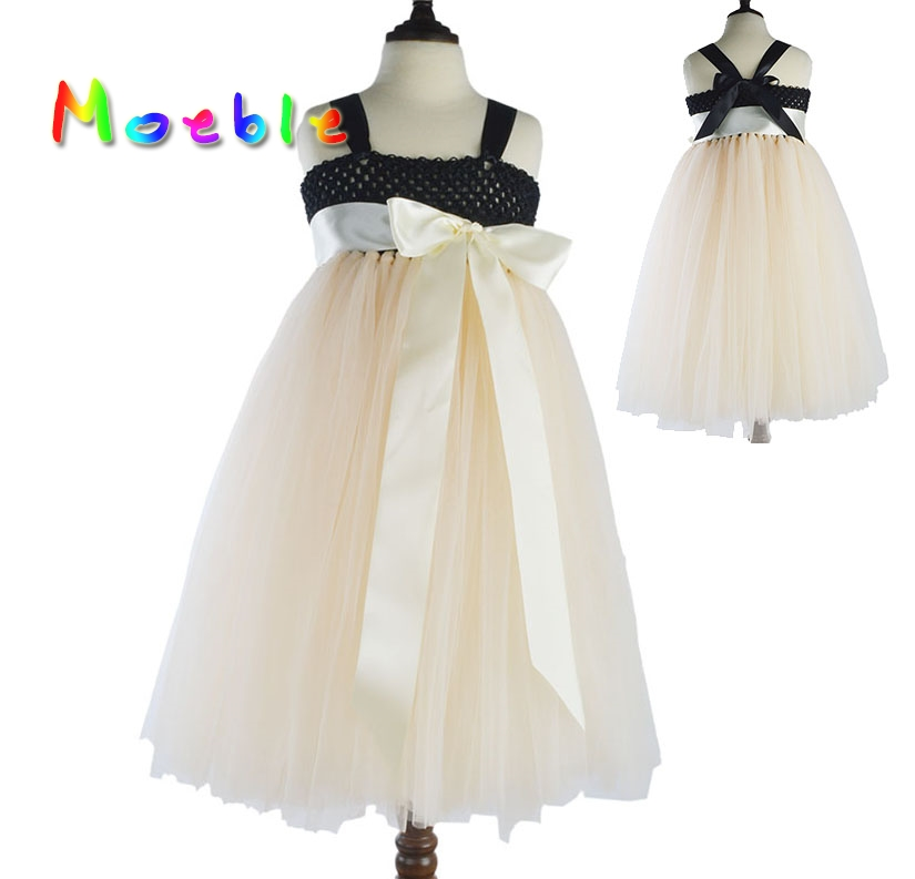 Latest Girls Tutu Dress With Ribbon Sashes Fluffy Tulle Children Summer Dress Kids Party Clothes Festival Teenagers Costume(China (Mainland))