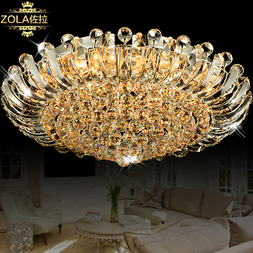 Luxury crystal lamp cambonzola ceiling light lighting lamps bedroom lamp led lighting(China (Mainland))