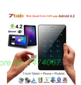 7 inch android tablet PC dual core+  pro Allwinner A23+ android 4.2.2 +4G+dual camera +WIFI OTG capacitive screen Free shipping