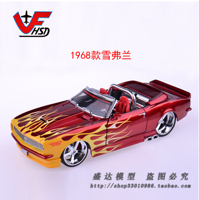 1968 Chevrolet  Maisto 1:24 Car model Alloy  Fast and Furious Classic cars Vintage cars American sports car Toys for boys<br><br>Aliexpress