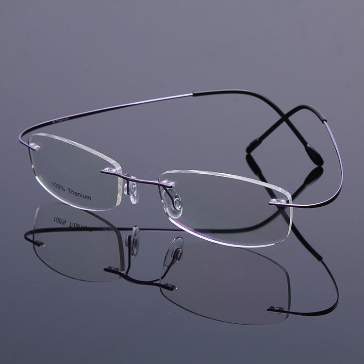 2016 High-grade B titanium Classic eyes glasses frame myopia reading picture frames oculos de grau frames only 2G free shipping(China (Mainland))