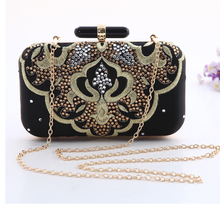 women clutch embroidery evening bag bride cheongsam dress women's handbag