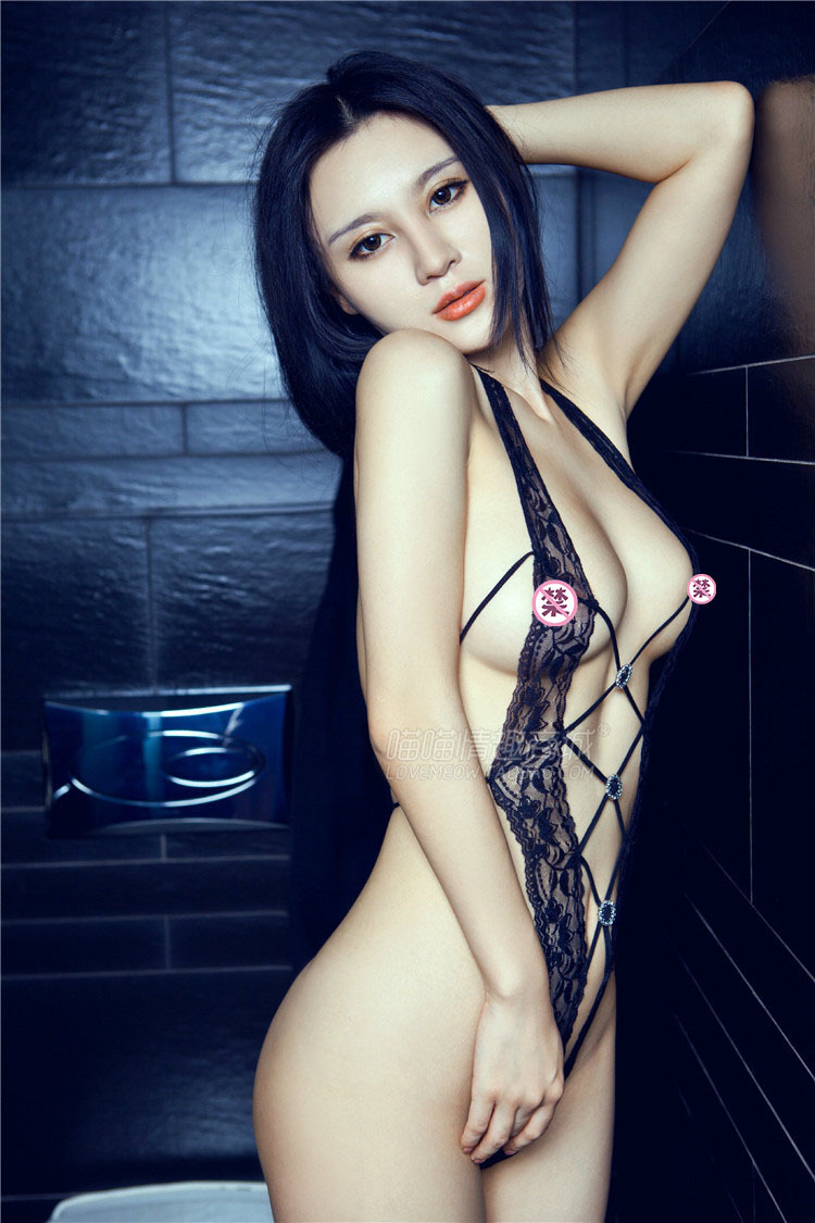 Sex Toy Game uniforms temptation perspectivity lace transparent rope clothing one piece open-crotch milk set sexy lingerie(China (Mainland))