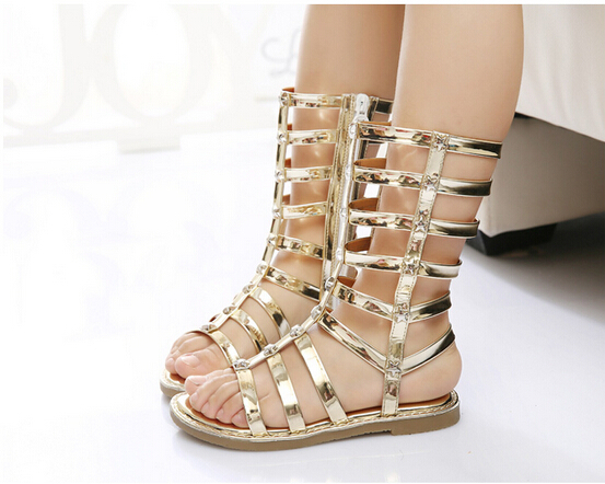 2015 Kids Gladiator Sandals Everleigh Soutas Summer Shoes ...