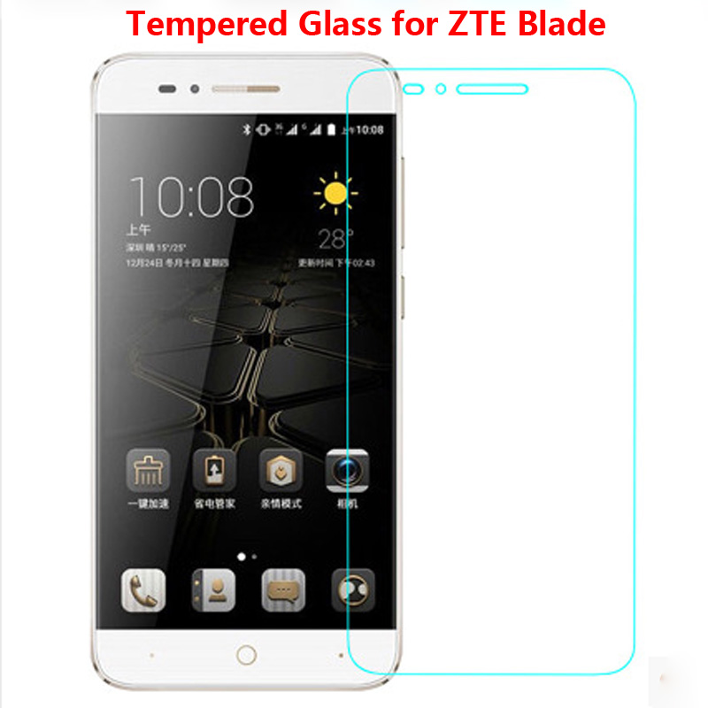 Tempered Glass film ZTE Blade X3 X7 S6 S7 A1 A512 Screen Protector V V7 plus V770 Lite GF3 Toughened Firm  -  E-WilliamTrading Co., Ltd. store