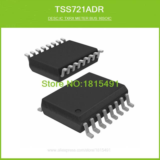 Free Shipping TSS721ADR IC TXRX METER BUS 16SOIC 721 TSS721 16-SOIC N 10pcs(China (Mainland))