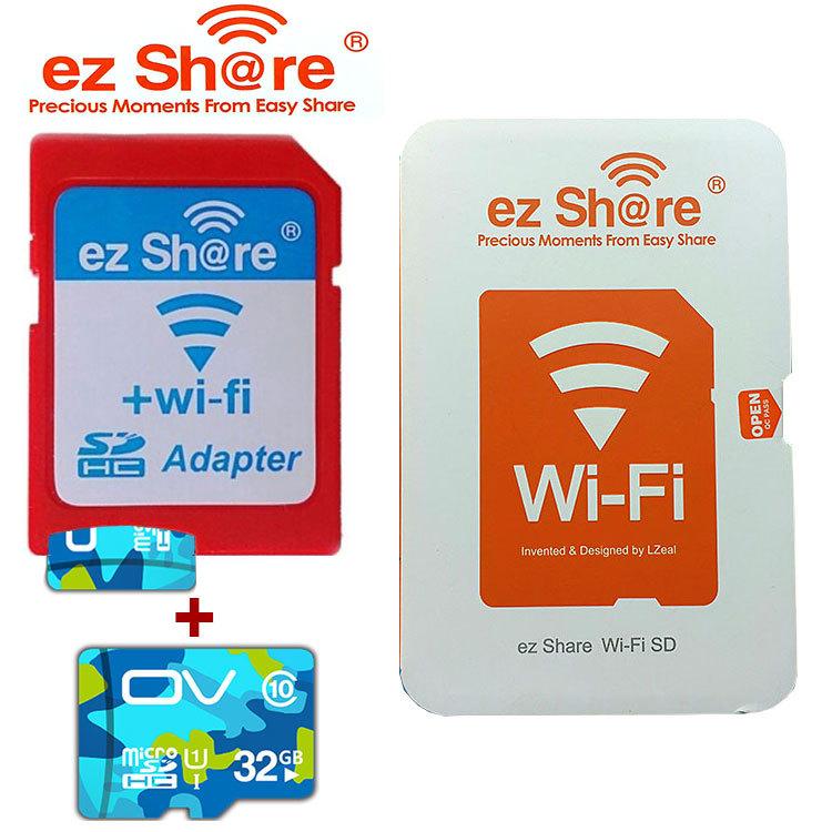 Карта памяти Other Pengiriman ezshare ez sd/, Nirkabel WiFi 4G 8G 16G 32G kartu , microSD , Tumpangan 4GB/8GB/16GB/32GB карта памяти other 32g 500 dhl tf 32g