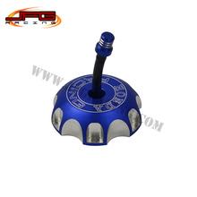 Billet CNC Gas Fuel Petrol Tank Cap Cover CRF XR CRF250R CRF250X CRF450R CRF450X XR250 XR650 XR600 XR400 Motorcycle Blue(China (Mainland))