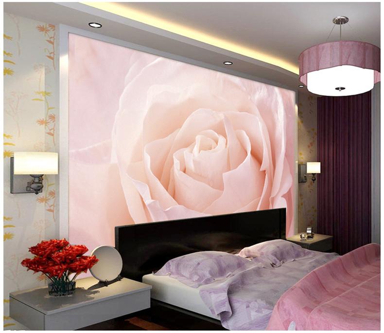 Rosa Rose Blume Tapete-Kaufen billigRosa Rose Blume Tapete Partien ...