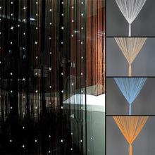 Brand New perles acrylique chaîne fenêtre décoration rideau diviseur cristal perles rideau Tassel panneau de l'écran 3 couleurs Hot(China (Mainland))