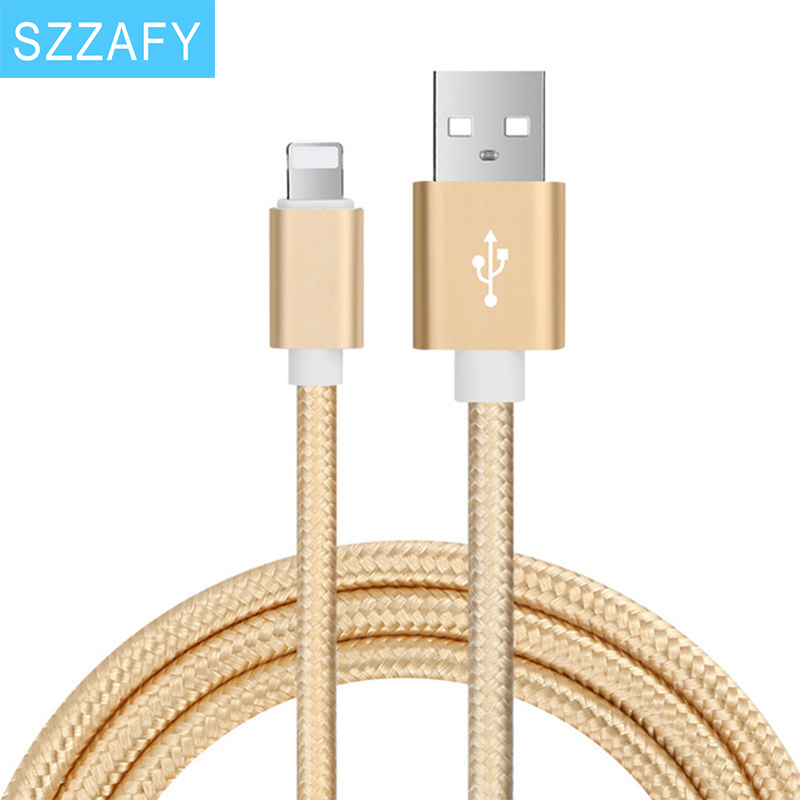 Original USB Cable 0.5M 1M 2M 8 Pin Transfer Data Sync Line Charging Charger Cable for iPhone 5S 5C 6 6Plus 6S for iPad(China (Mainland))