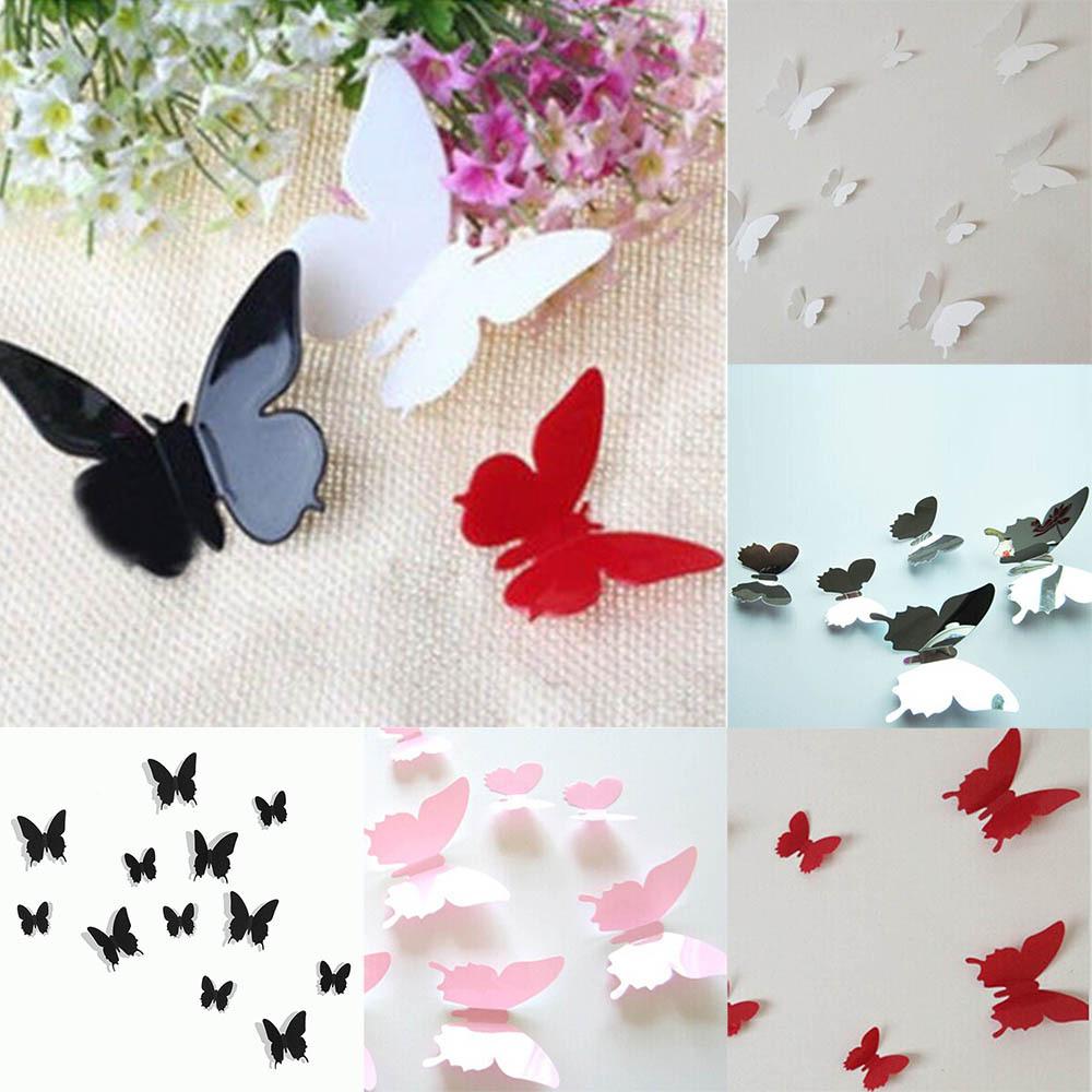 Как сделать бабочек на всю стену 865
